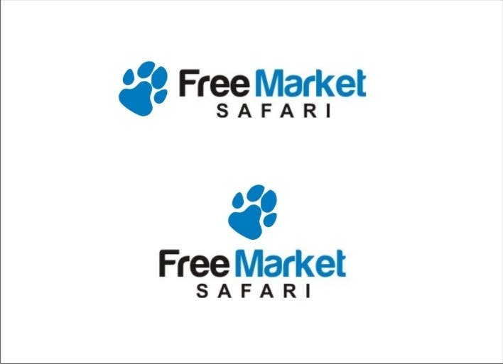 #668 for Logo Design for Free Market Safari by sharpminds40