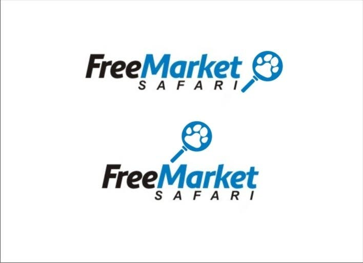 #670 for Logo Design for Free Market Safari by sharpminds40