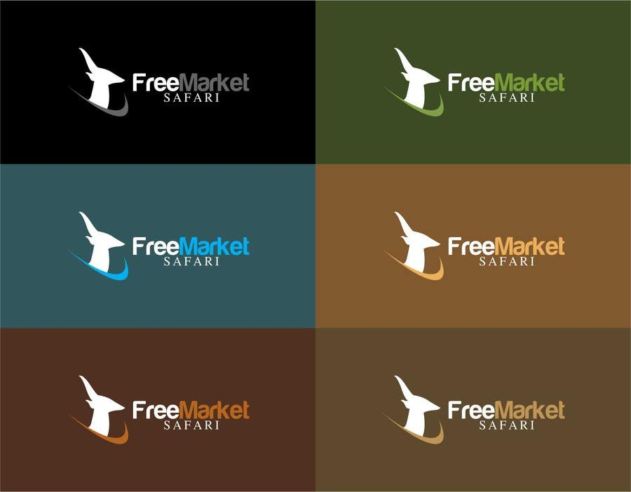 #756 for Logo Design for Free Market Safari by trying2w
