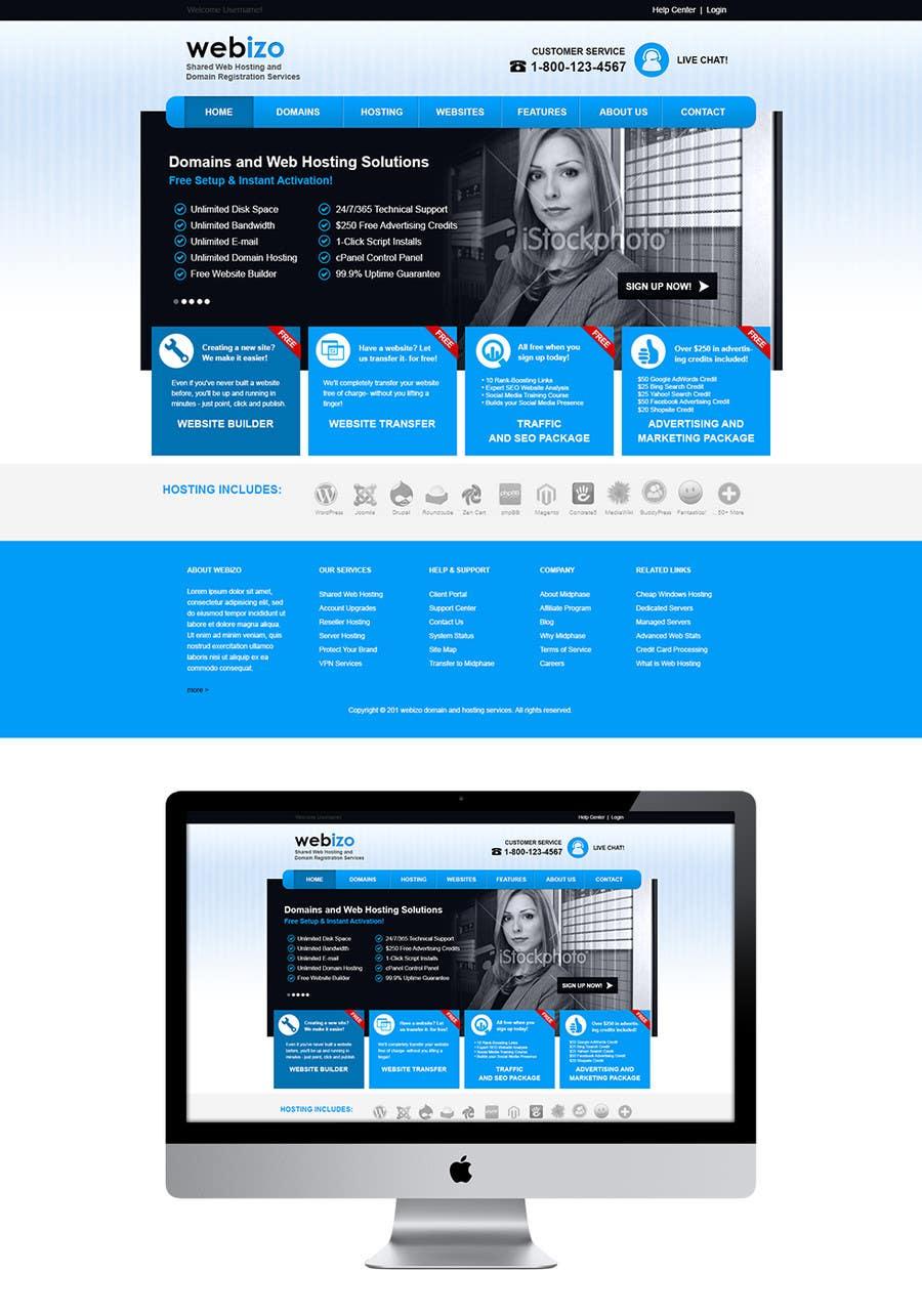 Proposition n°                                        13                                      du concours                                         Website Design for Webizo (Webizo.com)