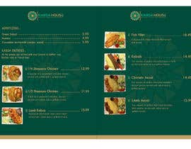 #9 for Menu for Kabsa House by irfannosh