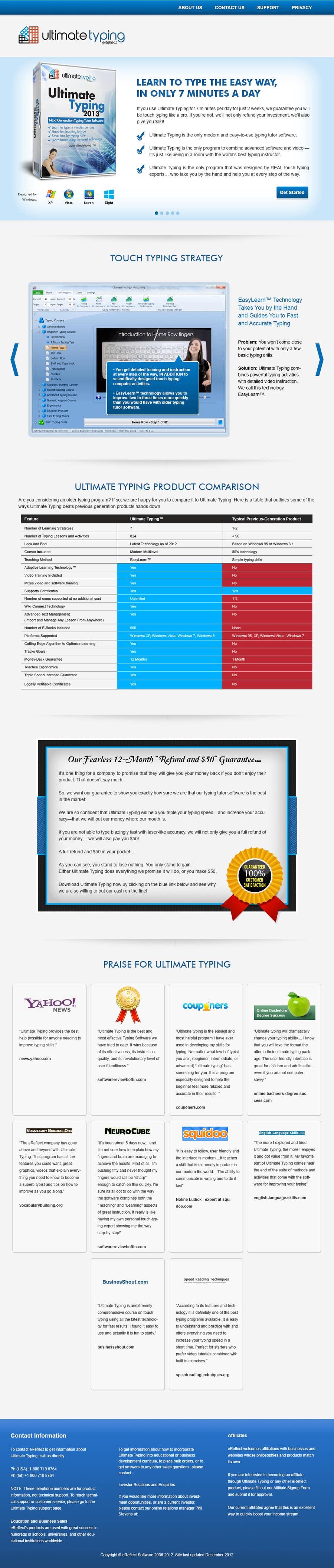 Inscrição nº                                         5                                      do Concurso para                                         Website Design for www.ultimatetyping.com