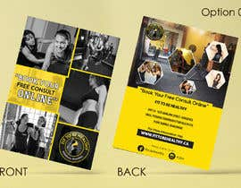 #20 for Double Sided Flyer For Personal Training Business and Studio by vinuprr