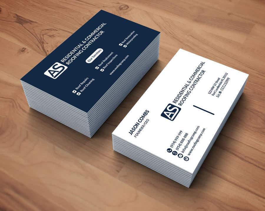 Entry #260 by SKSajed for Design Business Card | Freelancer