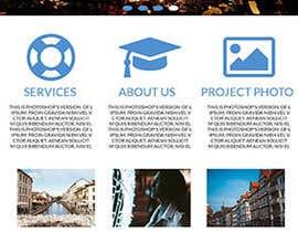 nº 14 pour Design a Website Mockup par prantohasan