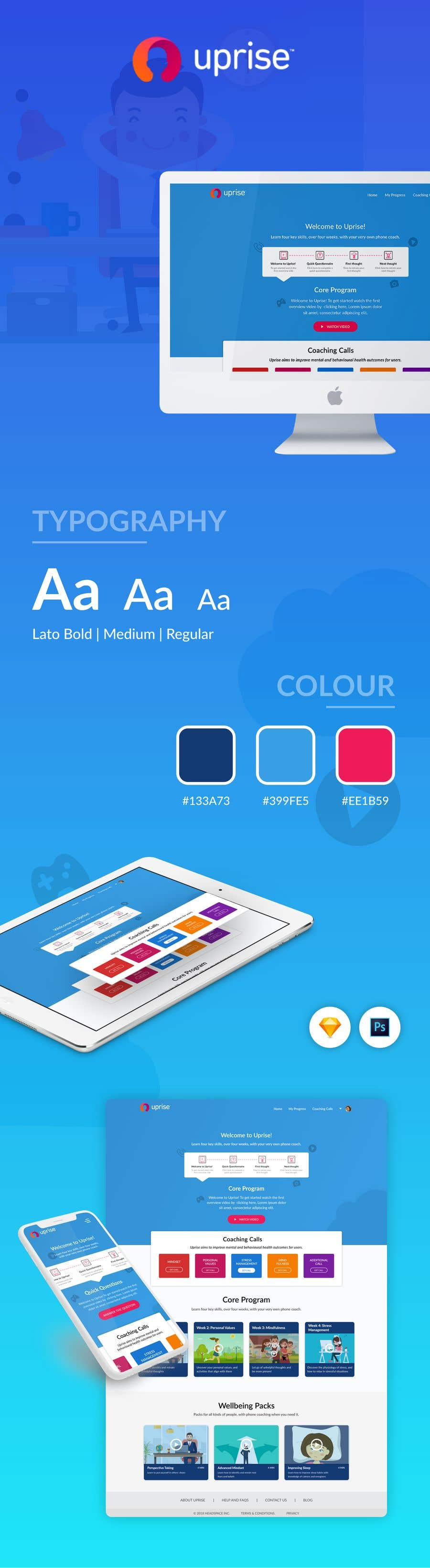 Proposition n°62 du concours Design a WebApp Mockup (4 pages only / redesign of live webapp / experienced hirer)