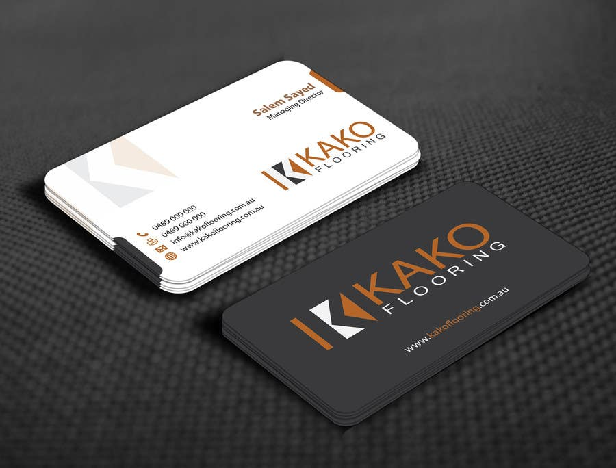 contest entry 56 for design some business cards for flooring company - Flooring Business Cards