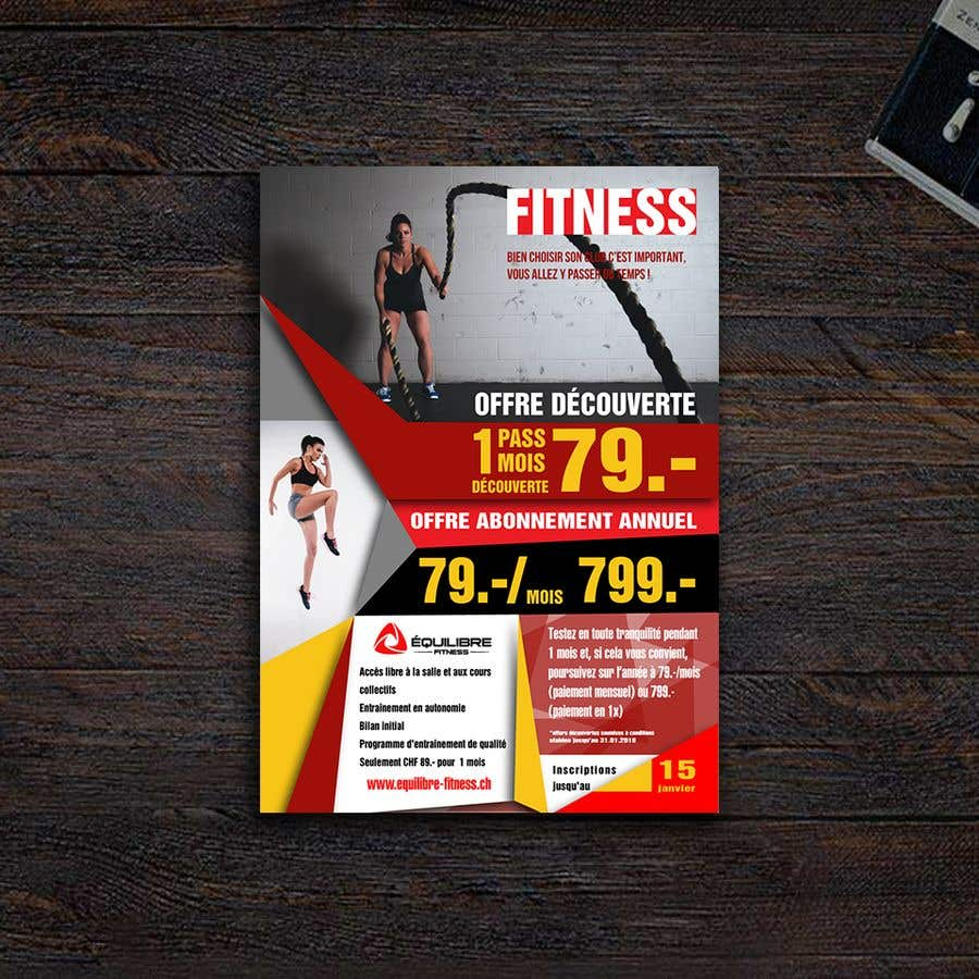 Contest Entry #59 for Design a Gym direct mail Flyer