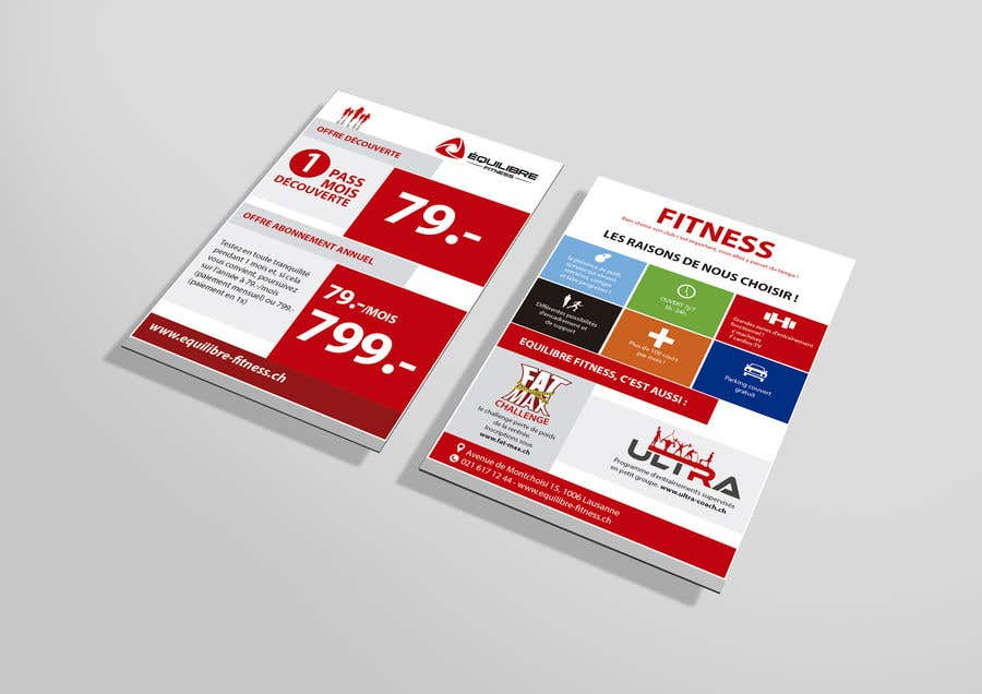 Contest Entry #44 for Design a Gym direct mail Flyer