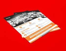 """#62 para Design a one page 8x10"""" sales brochure for REALMCOM por meenastudio"""