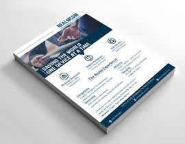 """#67 para Design a one page 8x10"""" sales brochure for REALMCOM por Tashir786"""