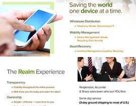 """#7 para Design a one page 8x10"""" sales brochure for REALMCOM por chiqueylim"""