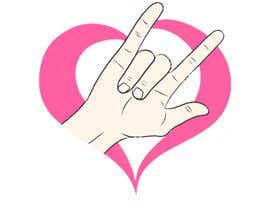 #41 for Heart & ILU Hand by alifffrasel