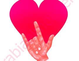 #35 for Heart & ILU Hand by rabiaelmouden