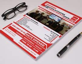 Nro 5 kilpailuun Design 2 double sided flyers to advertise a youth centre. käyttäjältä nayangazi987