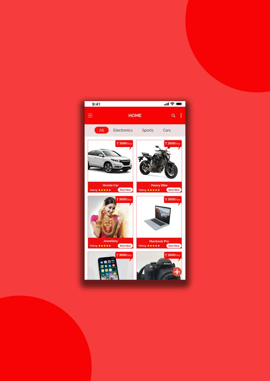 Entry #18 by predixtechsol for Android app Home screen design ...