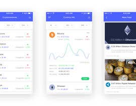 #18 for Design a Cryptocurrency News Reader Web App by solankisagar97