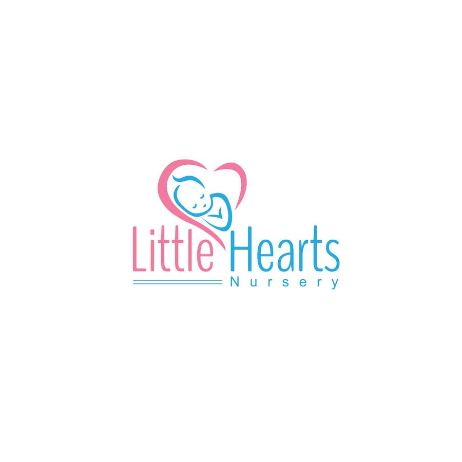 Contest Entry 23 For Little Hearts Nursery Logo