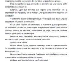 #19 for Translate script of promo video into Spanish by agarivero1