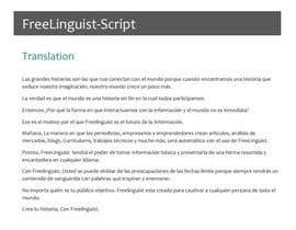 #32 for Translate script of promo video into Spanish by Jabv1993