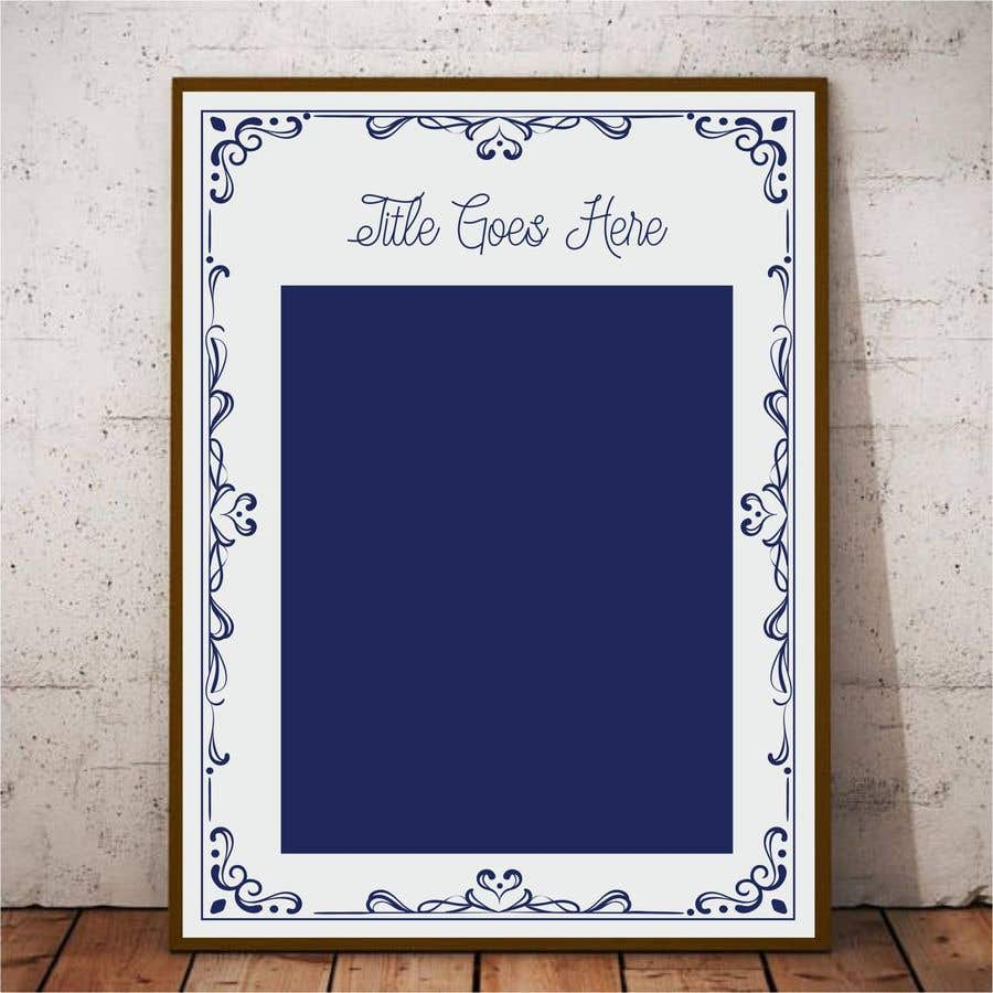 Entry #11 by ConceptGRAPHIC for framed artwork design for star chart ...