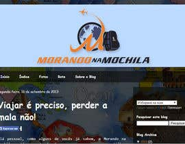 #46 para Projetar um Logo for Morando na Mochila (travel blog) por BuDesign