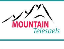 #7 untuk Mountain TeleSales Logo oleh sadaknet