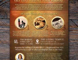 #15 for Astrology and Crystals Lecture Flyer af apwbd49