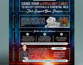 #10 for Astrology and Crystals Lecture Flyer af gkhaus