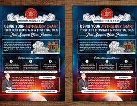 #11 for Astrology and Crystals Lecture Flyer af gkhaus