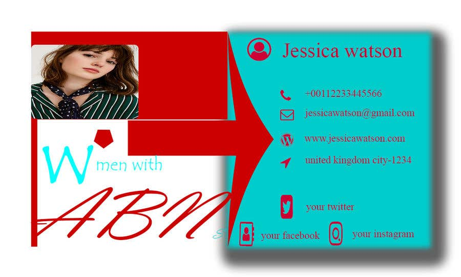 Entry 80 by helal222 for design business card for women in small contest entry 80 for design business card for women in small business colourmoves