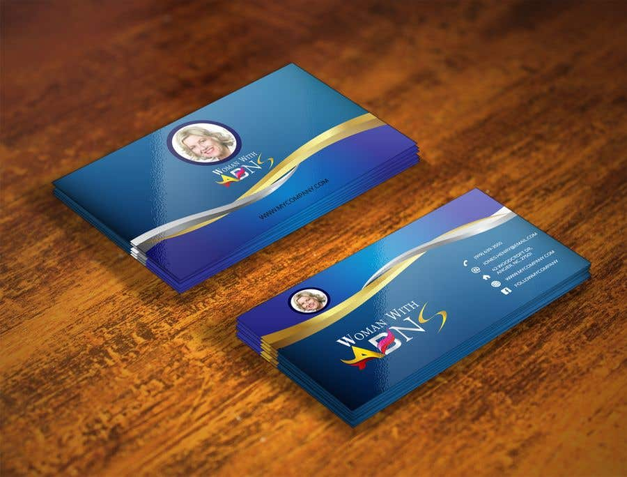 Entry #75 by khansayed040 for design business card for women in ...