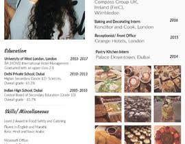 #8 untuk Design a Instagram Themed CV, oleh adzikun