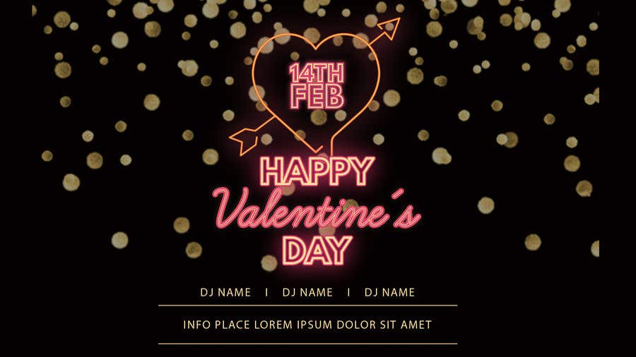 Entry 46 By Zufee For Design Image For Valentine S Day Event