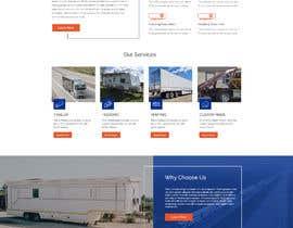 #13 for Design homepage for website trailer dealer by ByteZappers