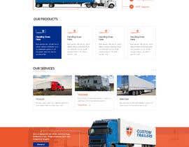 #29 for Design homepage for website trailer dealer by ByteZappers