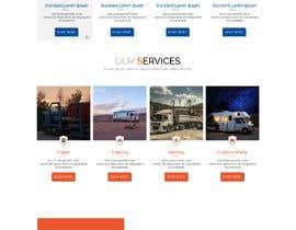 #21 for Design homepage for website trailer dealer by kreativeimpress