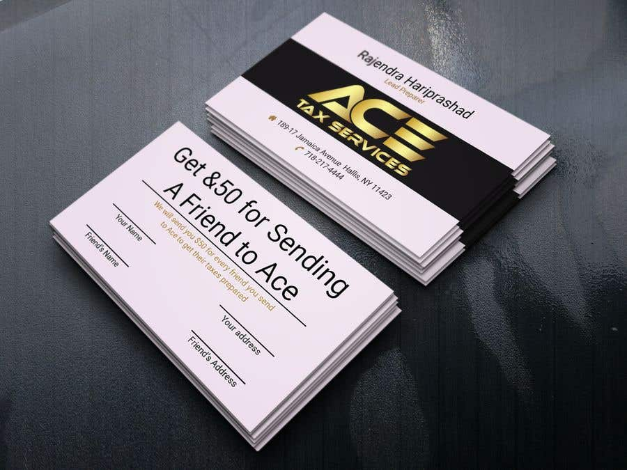 Entry #108 by fazleyrabby200 for business card ace | Freelancer