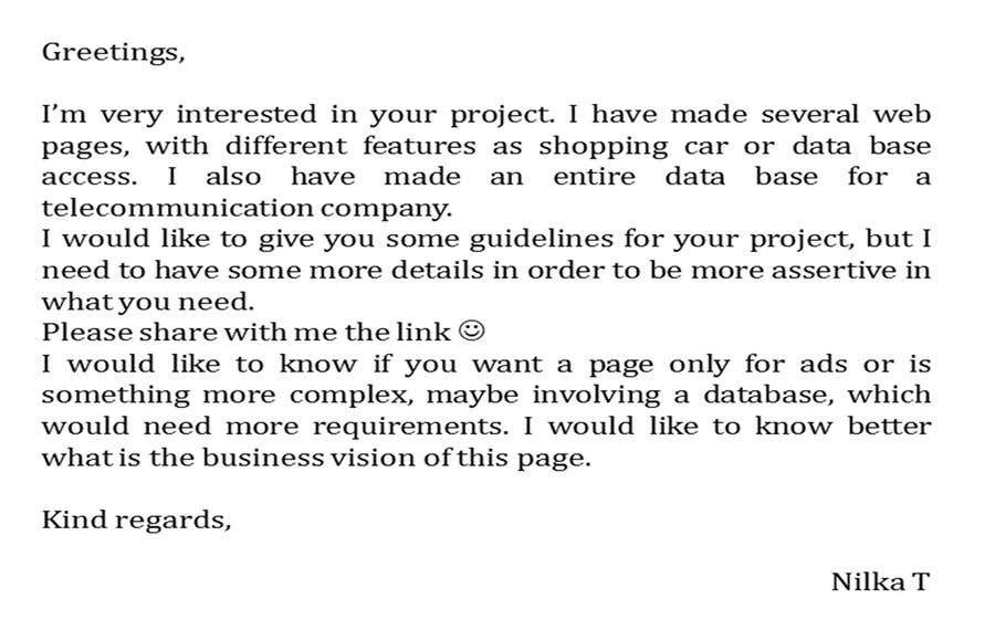 Entry By Tiby For Write The Technical Requirements For Website - How to write technical requirements