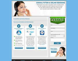 #42 para Website Design for EMERGENCY HYPNOSIS por timid