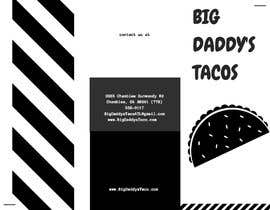 #5 για Need a restaurant menu takeout style. Tri-fold black and white. από jfo5a55961b263c6
