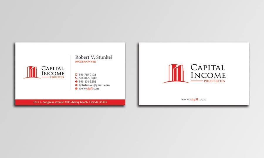 Entry 109 by hammyhs for design some business cards for commercial contest entry 109 for design some business cards for commercial real estate company reheart Choice Image