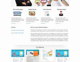#60 untuk Website Design for LeadsMarket.com oleh clickinn