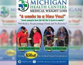 Nro 43 kilpailuun medical weight loss flyer käyttäjältä ihosenimu38