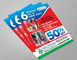 Nro 9 kilpailuun medical weight loss flyer käyttäjältä qamarkaami