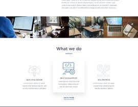 #8 untuk Create a landing page design PSD oleh Stunja