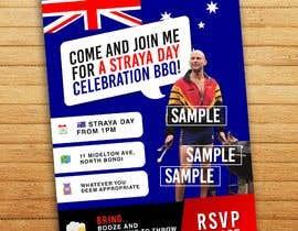 #1 untuk Australia Day Invitation oleh mishamelukis