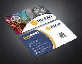 Nro 343 kilpailuun Design profesisonal Business Cards for Cybersecurity käyttäjältä salmancfbd