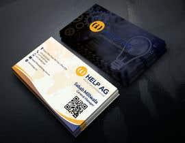 Nro 156 kilpailuun Design profesisonal Business Cards for Cybersecurity käyttäjältä OSHIKHAN