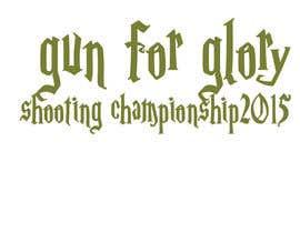 #37 for Design a Logo for Gun for glory shooting championships 2015 af creativetigers32